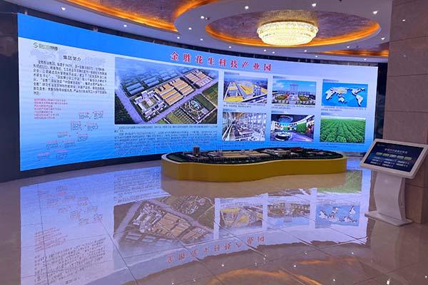 山东金胜粮油集团数字多媒体展示工程