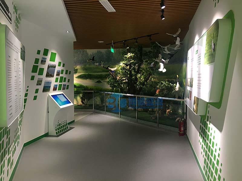 山东泗水湿地景区多媒体展厅
