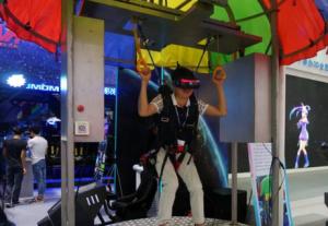 VR虚拟跳伞