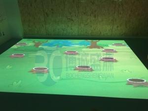 廊坊儿童早教中心地面互动投影案例