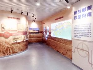 中石油新疆塔里木气田展厅
