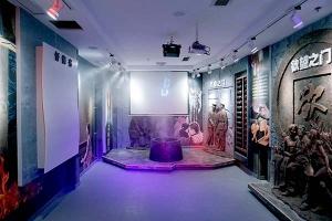 绍兴廉政展厅融入多媒体互动技术打造的数字化展厅