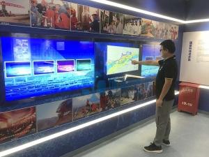 中石油新疆塔里木气田数字展厅多媒体