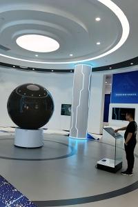 国内某空间技术研究院多媒体展厅