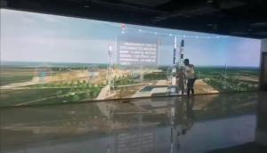 大屏投影触控展示系统助力航天研究院