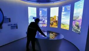 北京知一航宇科技展厅多媒体互动展示系统