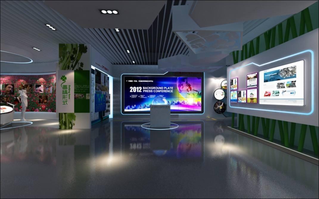 鄂尔多斯财政局展厅设计
