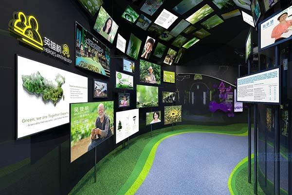 环保多媒体展厅_科普类多媒体展厅