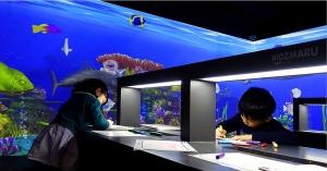 深圳神笔绘画——海底探奇