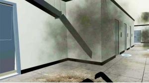 VR地震逃生模拟系统