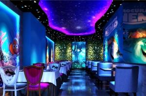 全息投影沉浸式餐厅