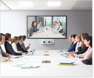 视频会议系统的应用范围非常广泛,可应用在网络视频会议,协同图片