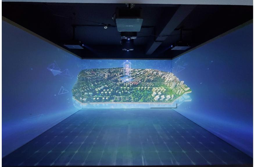上海某科技馆CAVE裸眼3D系统